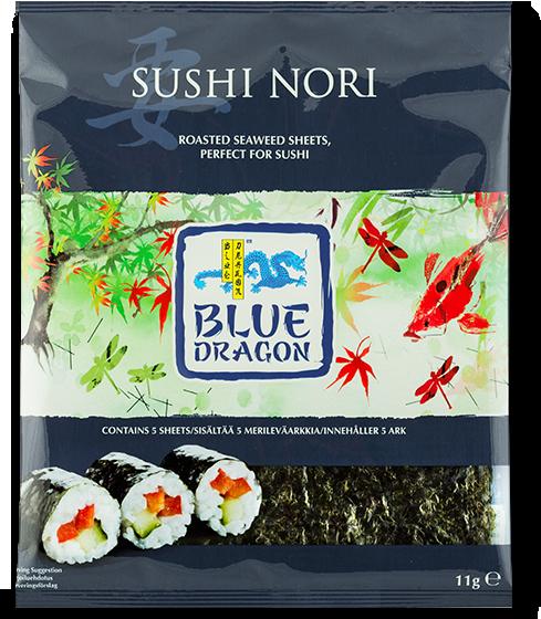 Sjögräs bladen används till att göra sushi men kan också rivas